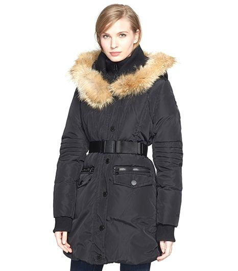 Rud by Rudsak Genuine Coyote Fur-Trim Parka