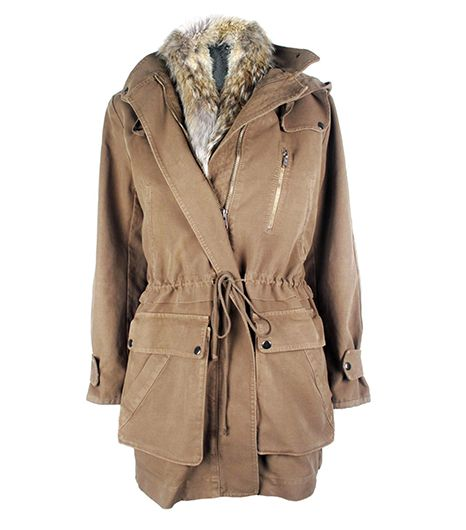 ALC Parka with Fur-Trim Vest
