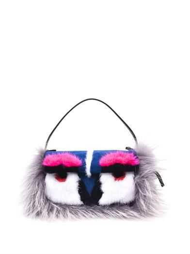 Fendi  Mini Monster Baquette Bag