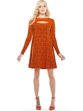 Fearne Cotton for Very.co.uk  Peek-A-Boo Swing Dress
