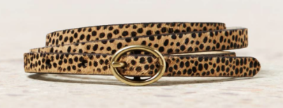 American Eagle  Animal Print Skinny Belt
