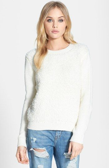 Topshop  Loop Stitch Sweater