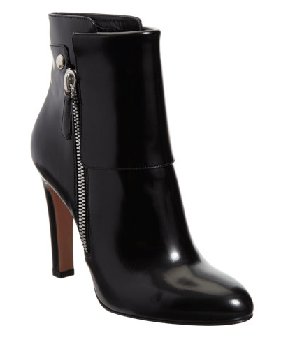 Gianvito Rossi  Patent Cuffed Ankle Boots