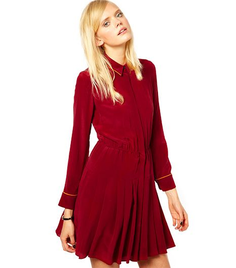 Antipodium Autobahn Shirtdress in Silk
