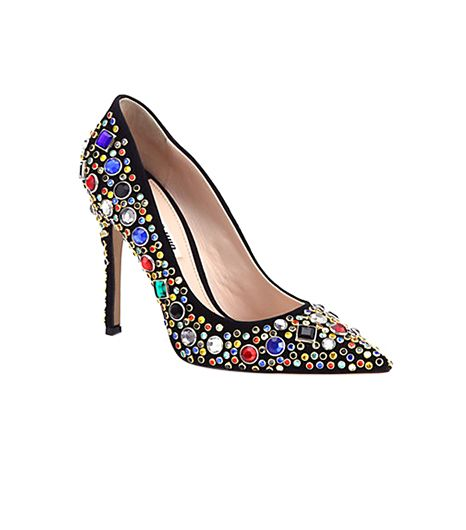 Miu Miu Jeweled Pump