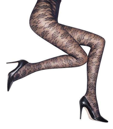 Alice & Olivia by Pretty Polly Floral Lace Tights