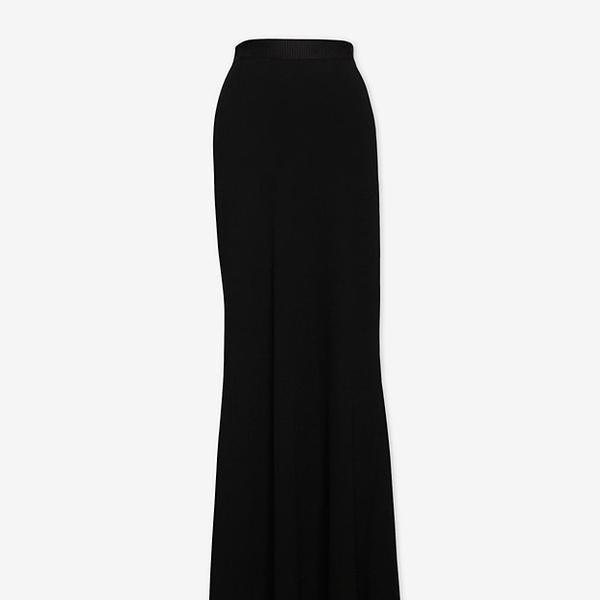 L'Agence  Maxi Pleat Skirt