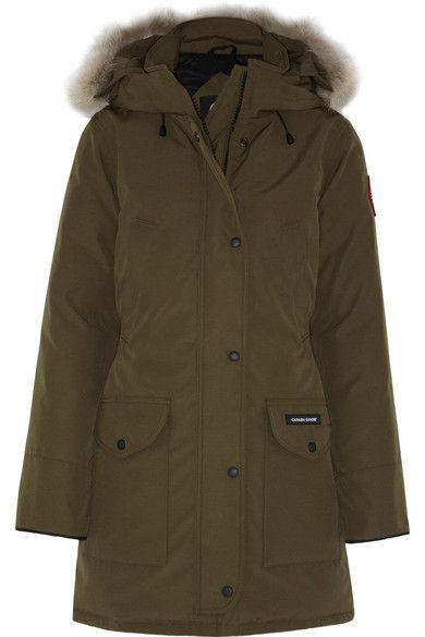 Canada Goose  Trillium Coyote-Trimmed Down Coat
