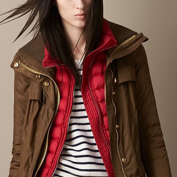 Burberry  Funnel Collar Parka