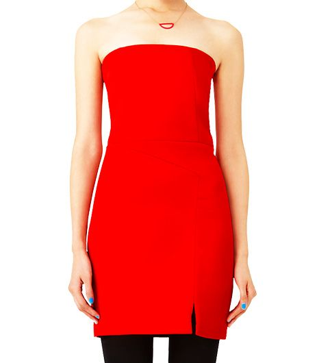 Kate Spade Saturday Strapless Panel Dress