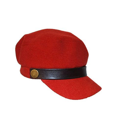 Hat Attack  Luxe Cap In Rust