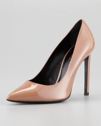 Saint Laurent  Pointed-Toe Pumps