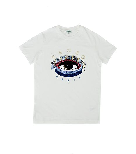 Kenzo  Eye Logo Printed T-Shirt