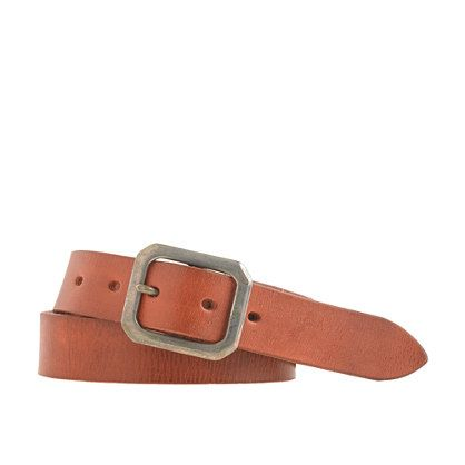 Wallace & Barnes  Distressed Leather Belt