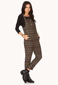Forever 21  Day Trip Woven Jumpsuit