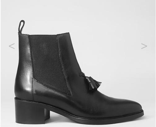 AllSaints  Kiss Tassel Boots