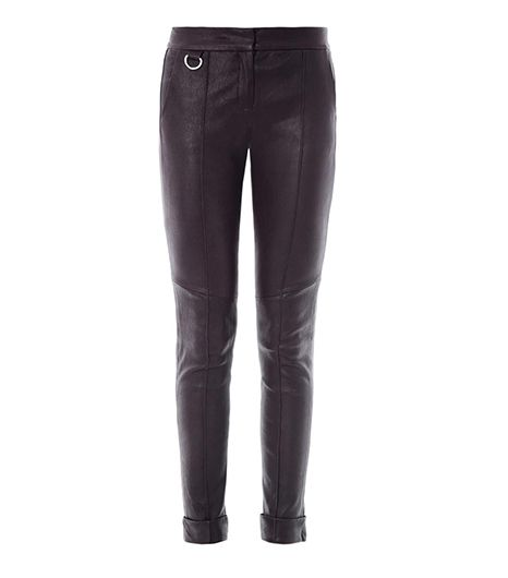 A.L.C. Daniel Leather Trousers