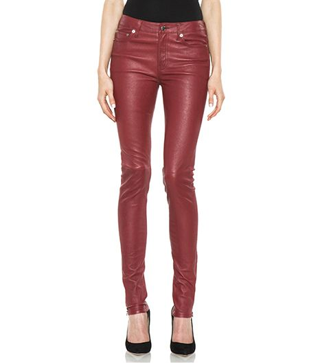 BLK DNM 5 Pocket Skinny Leather Pant