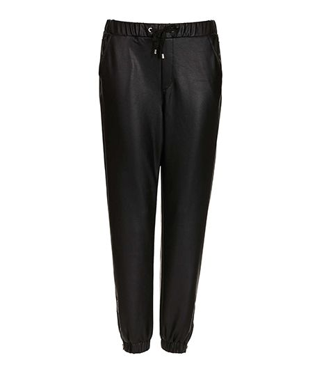 Topshop Leather Look Joggers