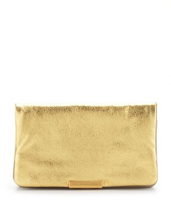 Marc by Marc Jacobs  Raveheart Metallic Clutch