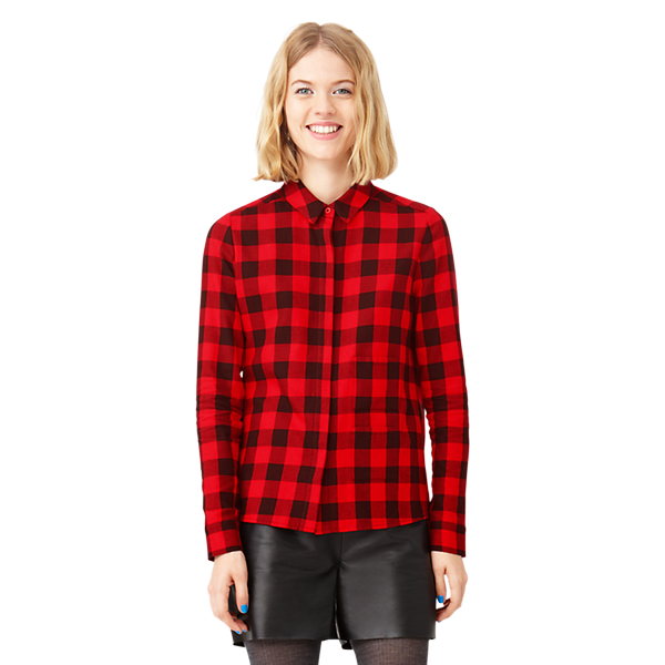 Kate Spade Saturday  Two-Pocket Perfect Day Shirt In Flannel