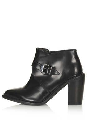 Topshop  Aleta Pointed Monk Boots