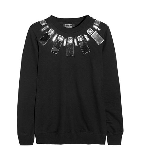 Markus Lupfer Embellished Cotton-Jersey Sweatshirt ($300)