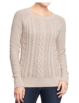 Old Navy  Cable-Knit Crew Sweaters