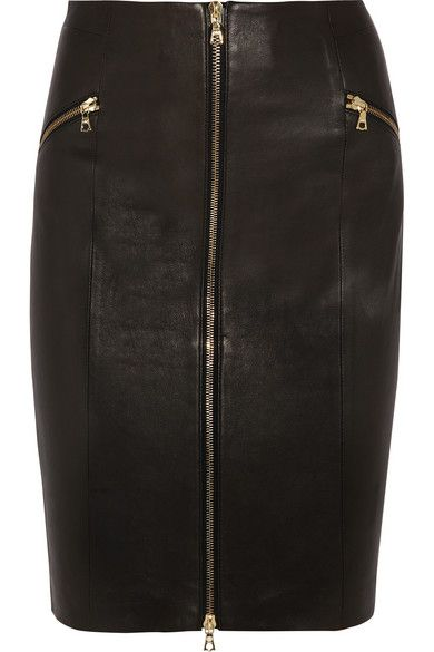 J Brand  Maxine Leather Skirt