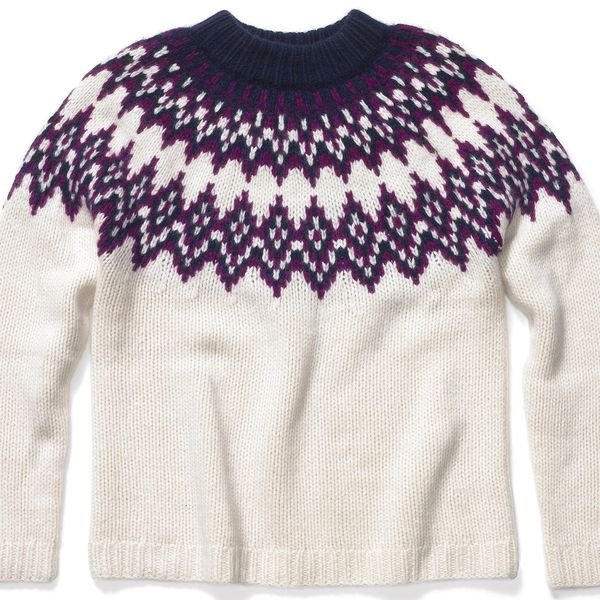 KULE Blake Cashmere Fair Isle Sweater