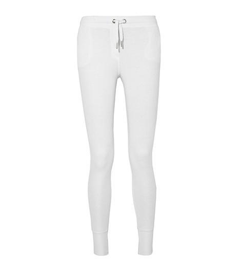 Zoe Karssen Cotton-blend jersey track pants