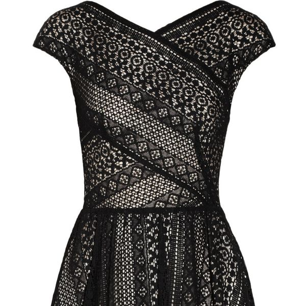 Lover Pyramid Cotton-Blend Lace Dress