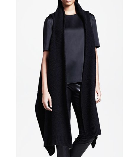 The Row  Long Draped Vest