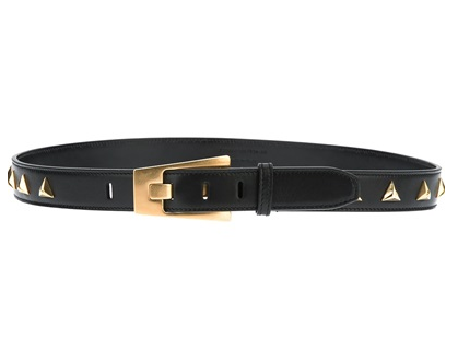 Saint Laurent  Triangle Stud Belt