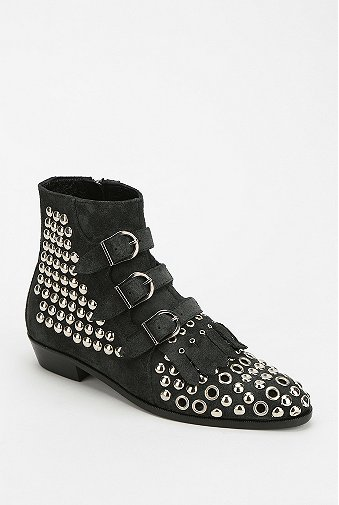 Modern Vice  Jett Studded Eyelet Boots