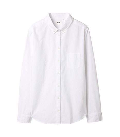 Uniqlo Women Oxford Long Sleeve Shirt