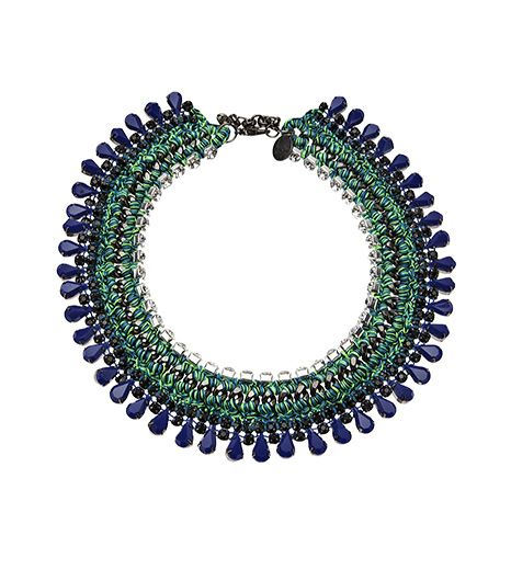 Venessa Arizaga Little Girl Blue Choker