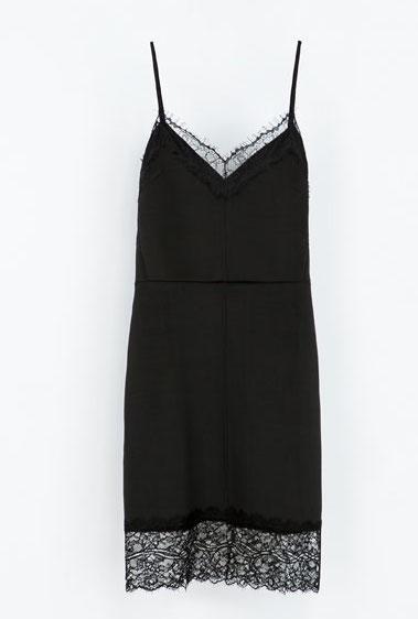 Zara Lingerie Style Dress