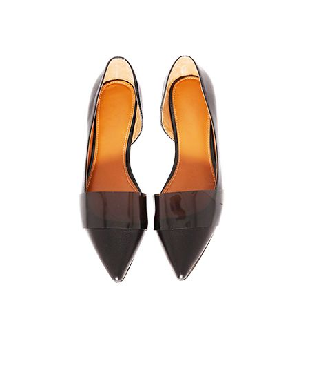 Pixie Market Patent Pointy Flats