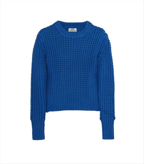 Acne Lia Chunky-Knit Cotton Sweater