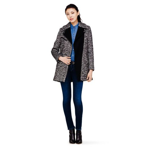 Club Monaco  Brooklyn Tweed Wool Coat