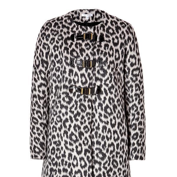 Paule Ka  Wool Blend Monteau Coat