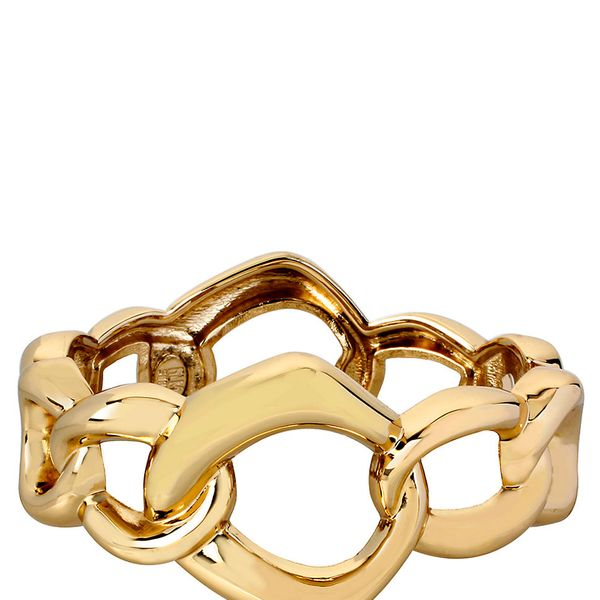 Robert Lee Morris Geometric Link Bangle Bracelet