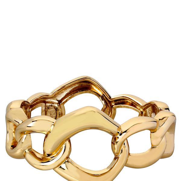 Robert Lee Morris Geometric Link Bangle Bracelet