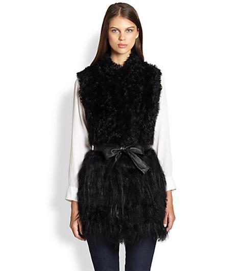 Glamourpuss Knitted Kalgan Lamb Vest