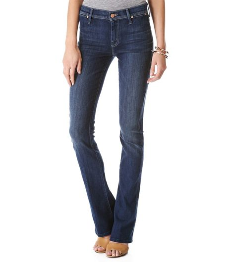 Mother Daydreamer Skinny Flare Jean