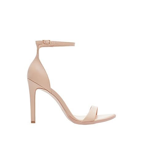 Zara Leather High Heel Sandal ($80)