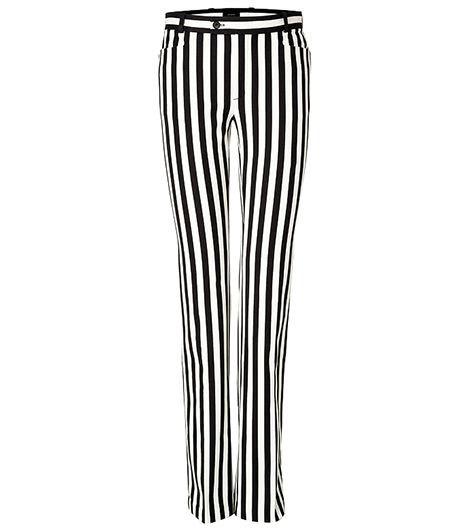 Joseph Rocket Striped Pants In Ecru