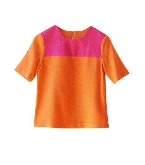 Carrie Parry  Contrast Yoke Shirt