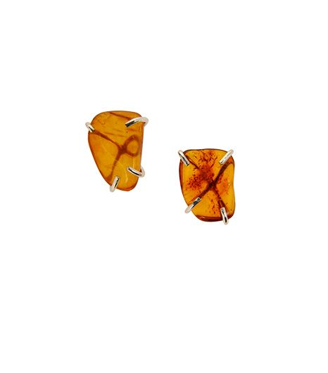 Melissa Joy Manning Amber Post Earrings